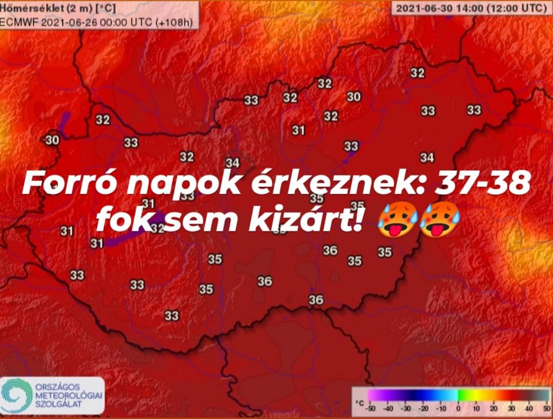Hőhullám érkezik: 37-38 fokos hőség sem kizárt! 1