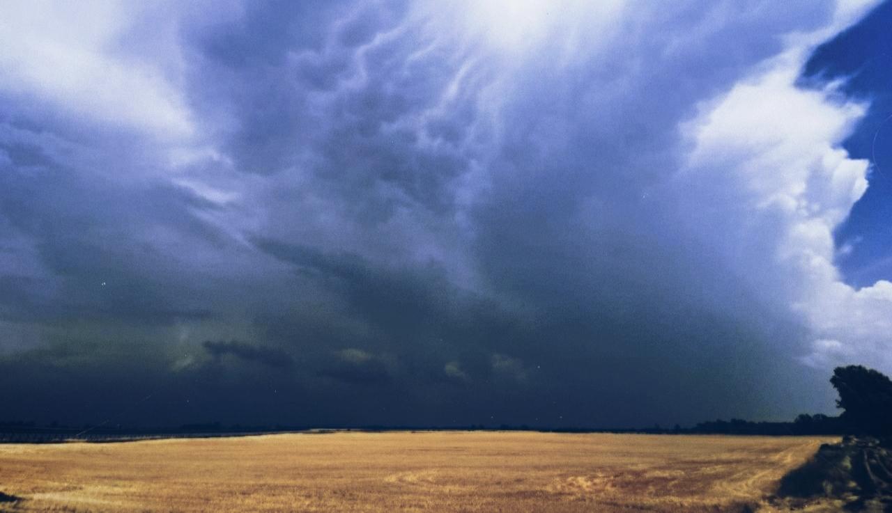 Hatalmas viharok csaptak le az Északi-középhegység környékére! Özönvíz, jég, szél! 5
