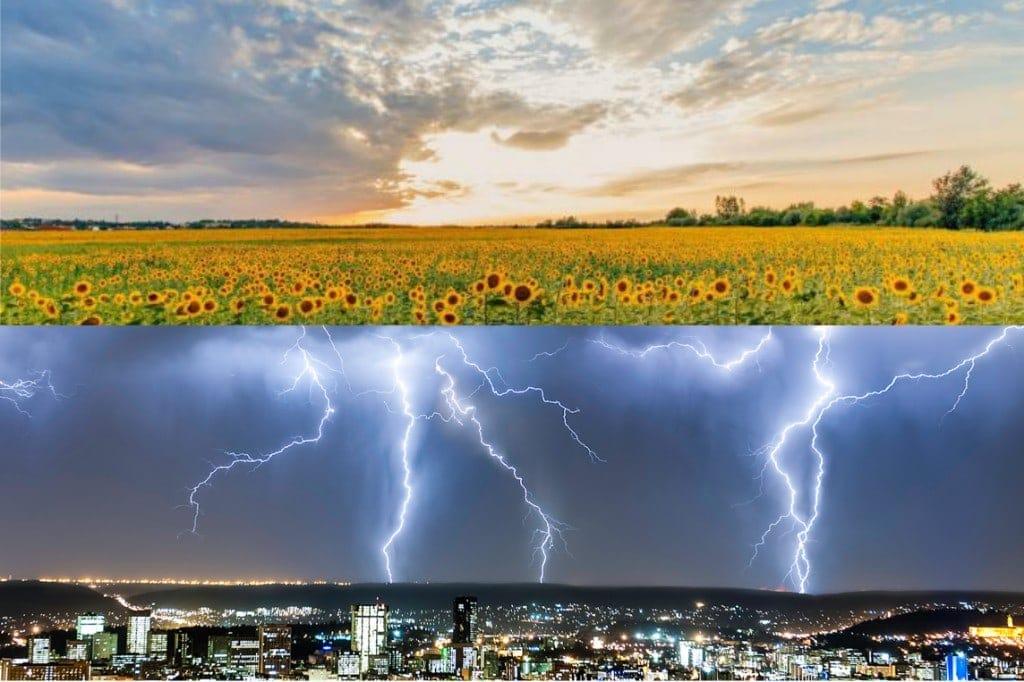 Kánikula, fülledtség, heves viharok, felhőszakadások! 8