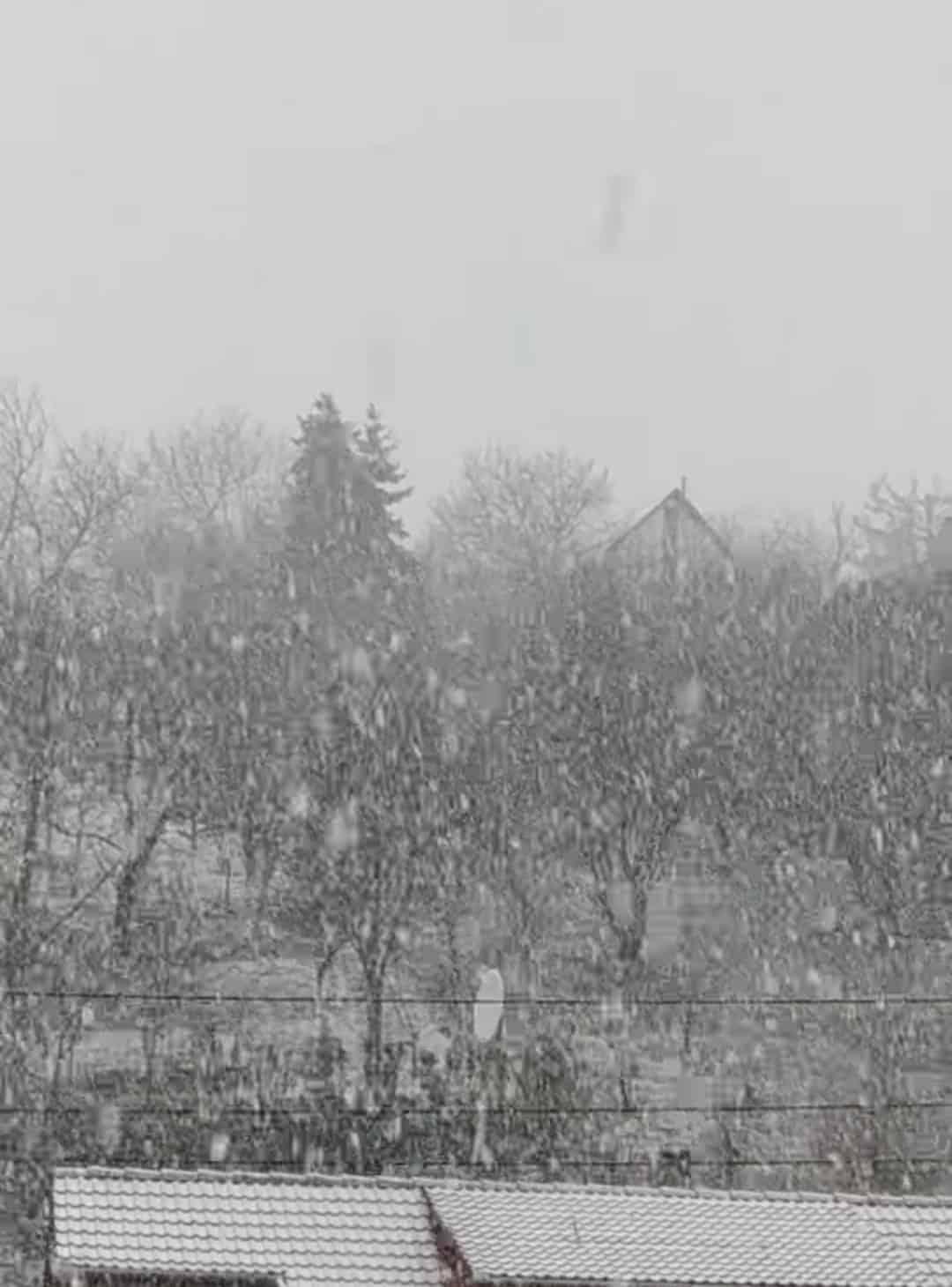 Ömlik a hó a Dunántúlon! 6