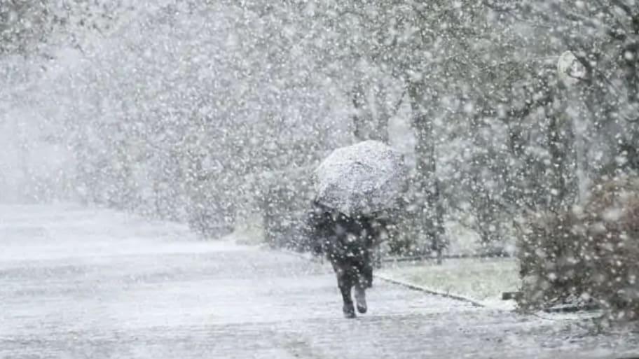 Érkezik a front: eső, északkeleten hó, havas eső! 1