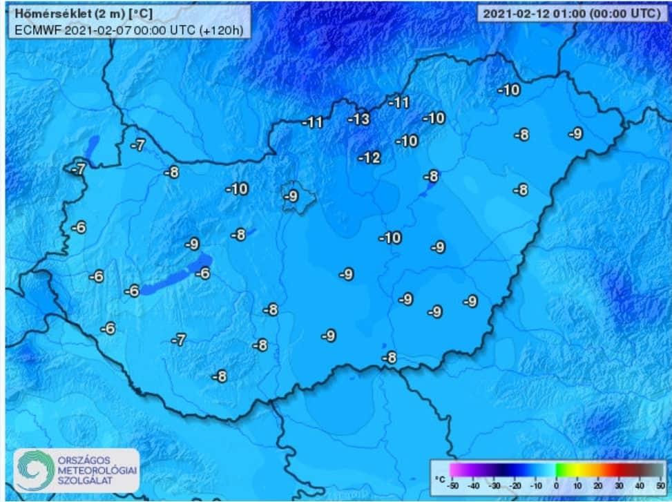 Érkezik a tél: 100km/h-s szél, havazás, -15, -20 fok! 7