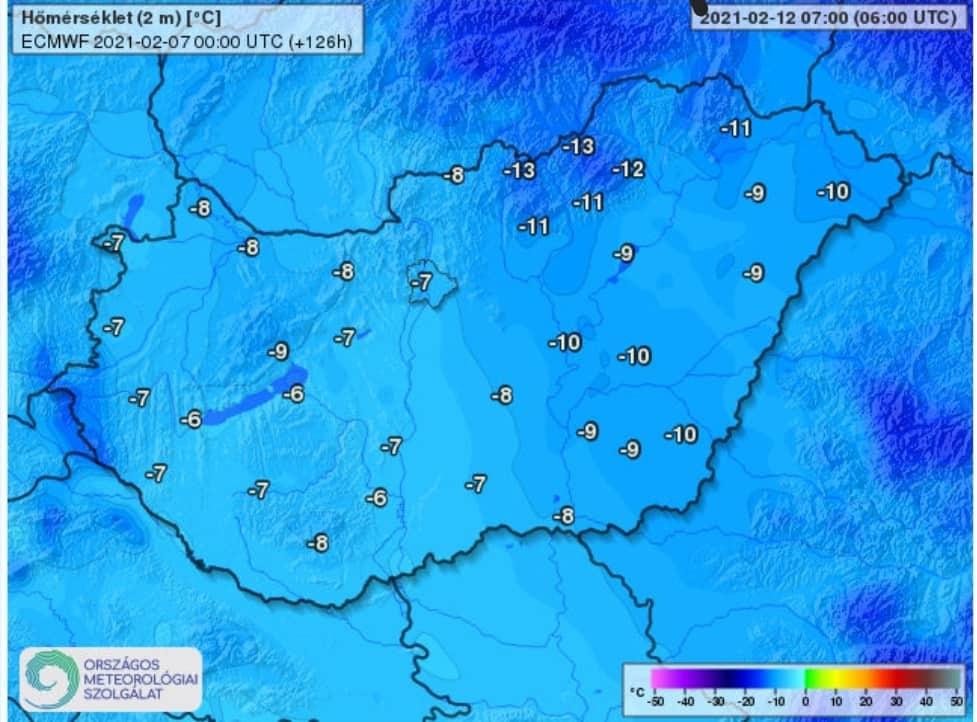 Érkezik a tél: 100km/h-s szél, havazás, -15, -20 fok! 8