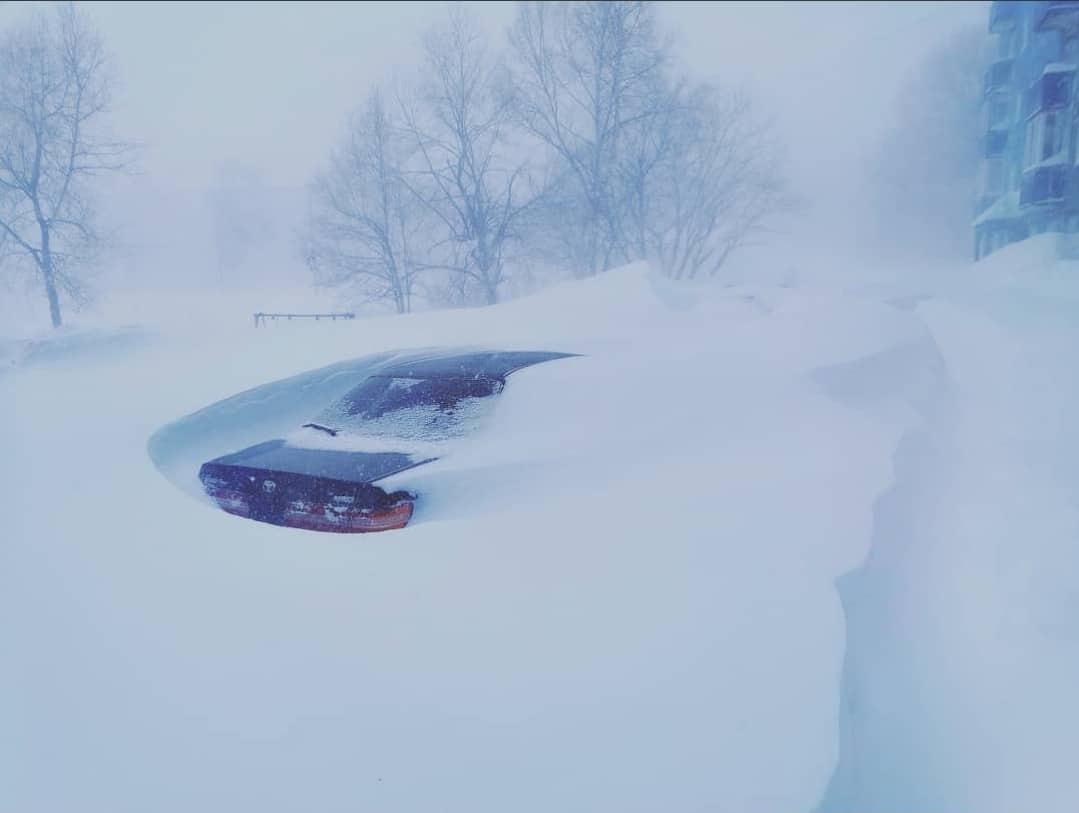 150-200km/h-s szél, több méteres hó: az orosz tél! (Képek, videók) 3