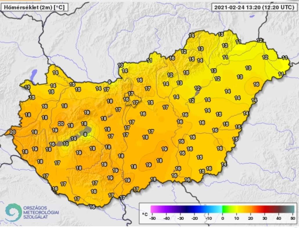 15-20 fokos meleg van! 1