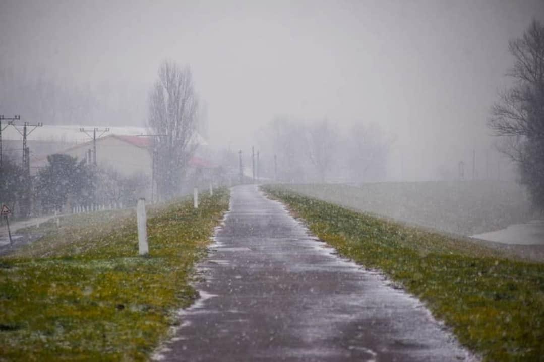 Északkelet felől havas esőbe váltott az eső! 2