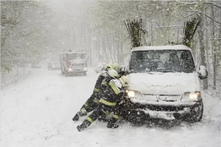 Jelentős havazás: akár 10-15cm hó is hullhat! 1