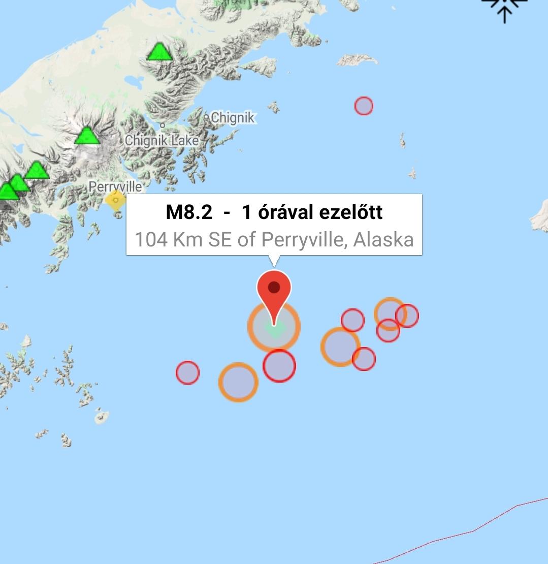 Cunami földrengés alaszka