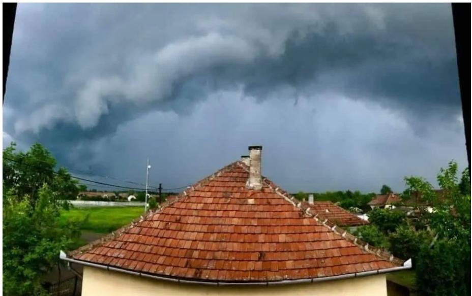 Viharokkal érkezhet a hideg: felhőszakadás, viharos szél! 8