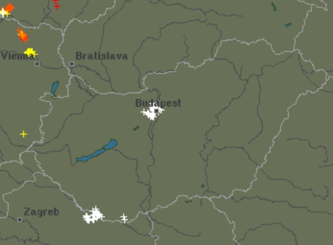 Zivatar Budapesten: felhőszakadás, jégeső is lehet! 2