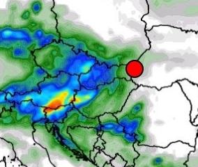 Mediterrán ciklon érkezik hétvégén: 10-30mm eső! 2