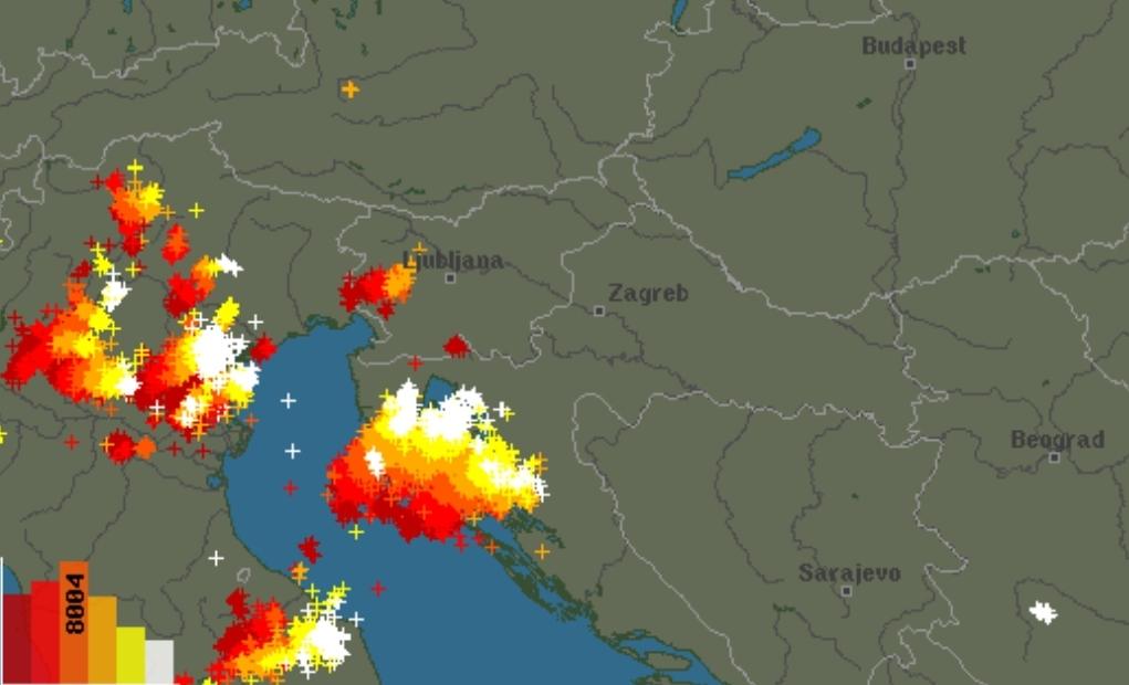 Zivatarrendszer közelít: érkezik a mediterrán ciklon! 3