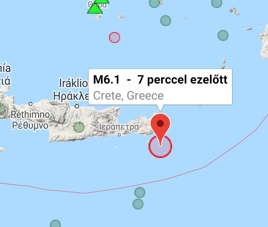 Kréta földrengés