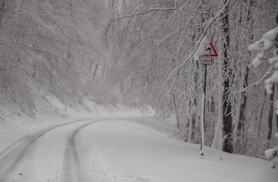 Akár 4-5cm hó is hullhat reggelig! 7