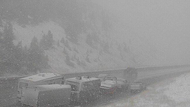 Brutális hideghullám az USA-ban! Hóviharokkal kezdődik az ősz! 5