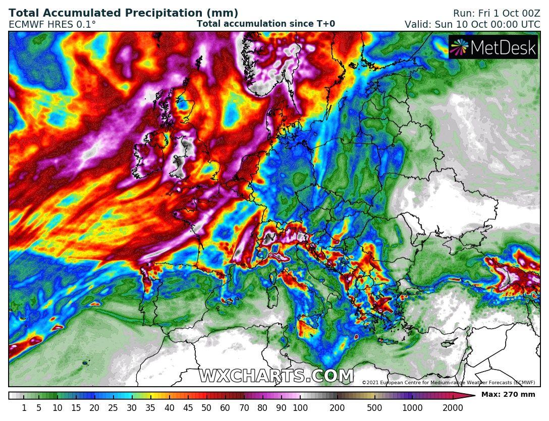 Zivatarok, lehűlés, esőzés érkezik a jövő héten!
