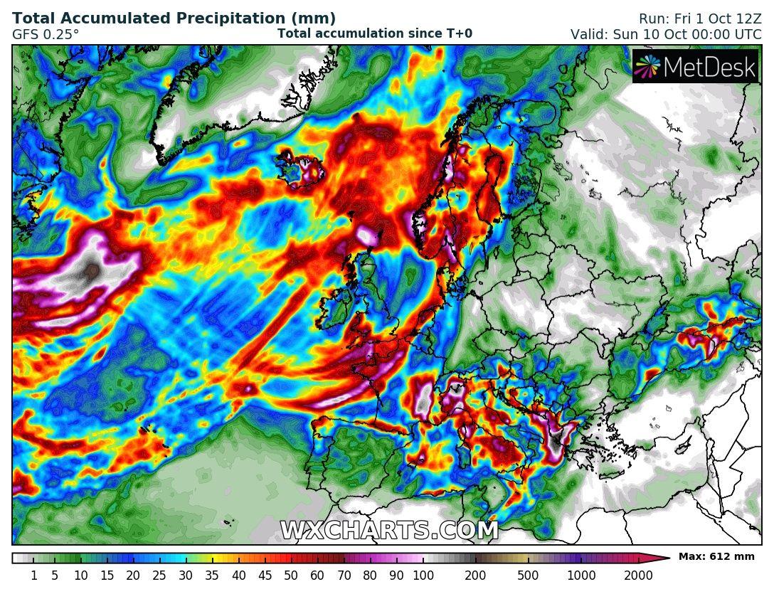 Zivatarok, lehűlés, esőzés érkezik a jövő héten! 4