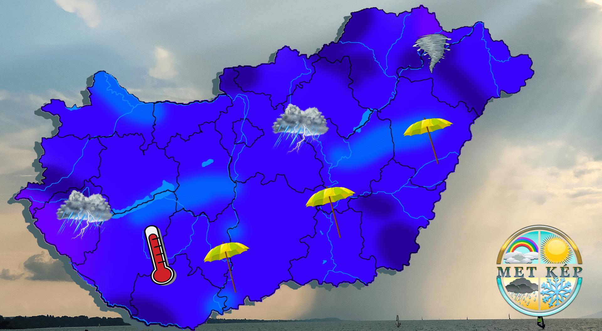 Viharok, milliárdos károk, hatalmas esők. Ilyen volt az idei nyár időjárása. 10