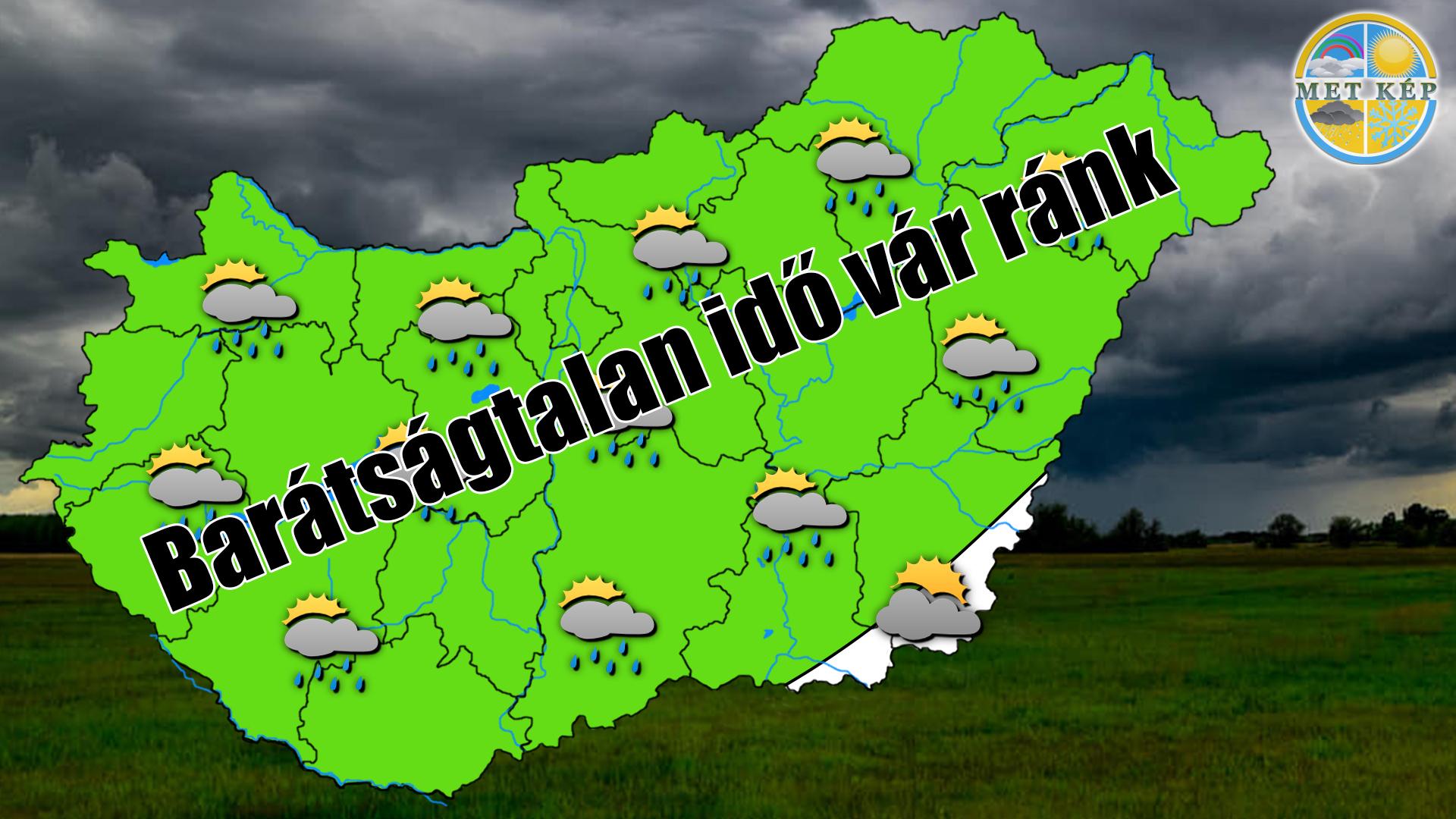 Barátságtalan esős idő vár ránk 1