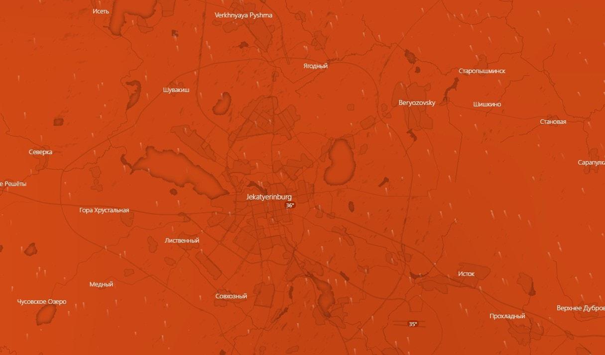 Szibéria egyes részein melegebb van, mint nálunk! 9