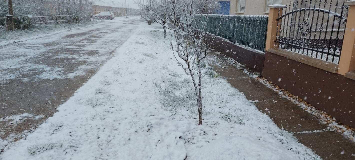Markáns hidegbetörés okozott/okoz több helyen hóömlést! 3