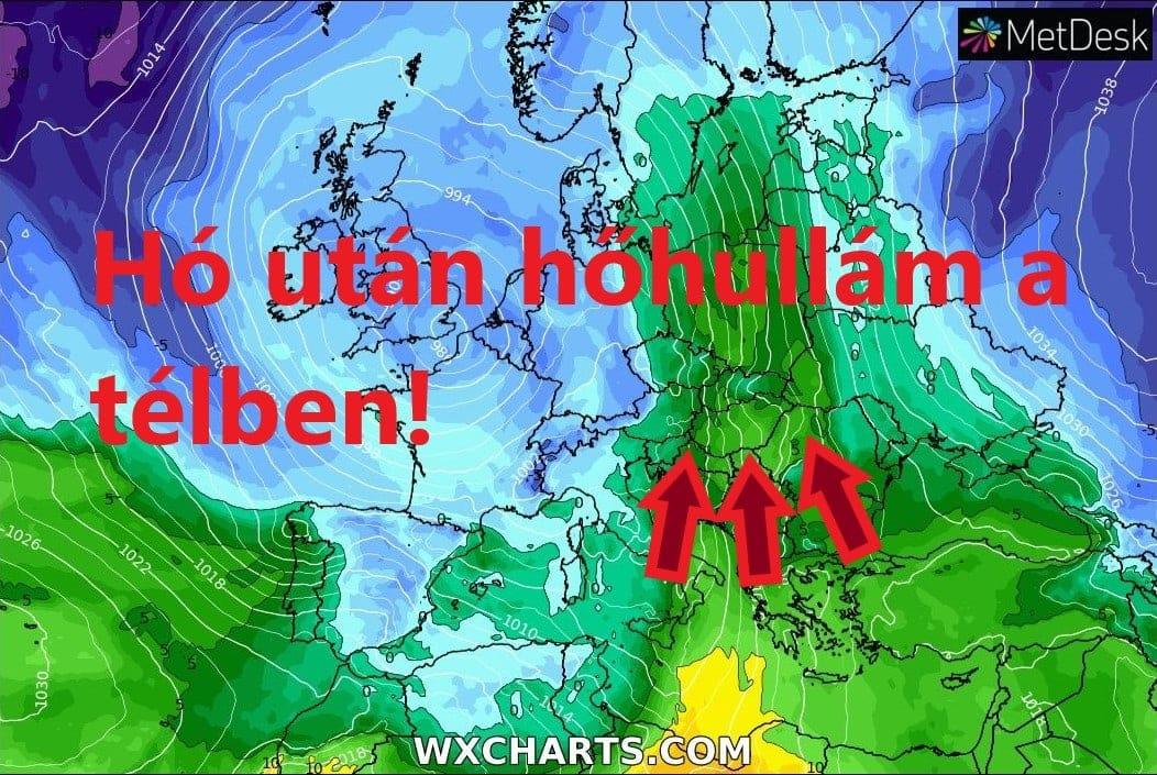 """""""Hőhullám"""" érkezik a jövő hét közepén, viharos széllel! 1"""