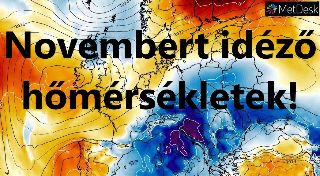 Novemberi a hőmérséklet az országban! 1