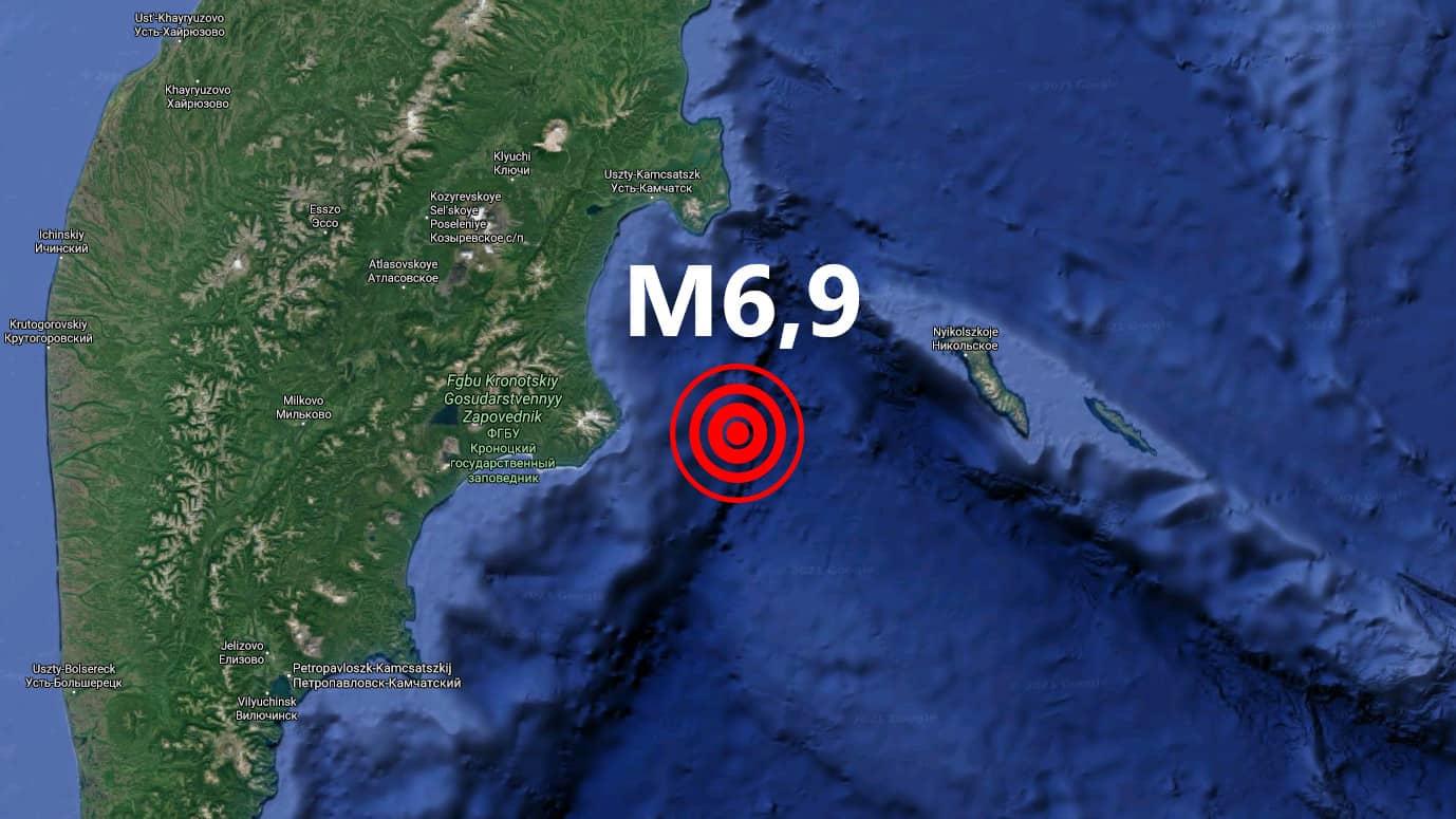 Erős földrengés Kamcsatka térségében!