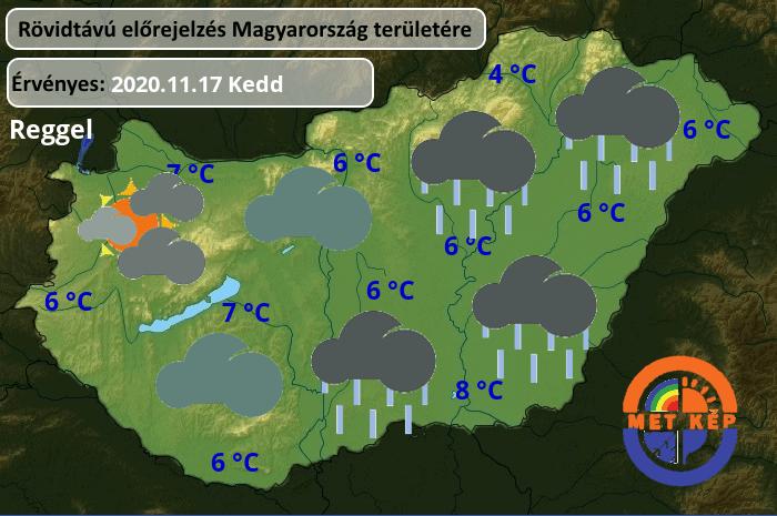 Milyen idő lesz holnap délután? Részletes időjárás előrejelzés!
