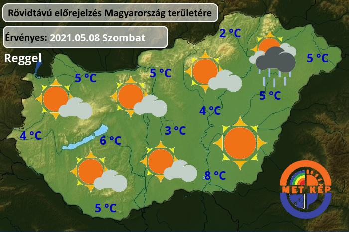 Holnapi időjárás! 2