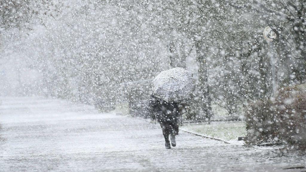 Holnap: markáns hidegfront tör ránk, jelentős lehűlésre és havazásra van kilátás! 3