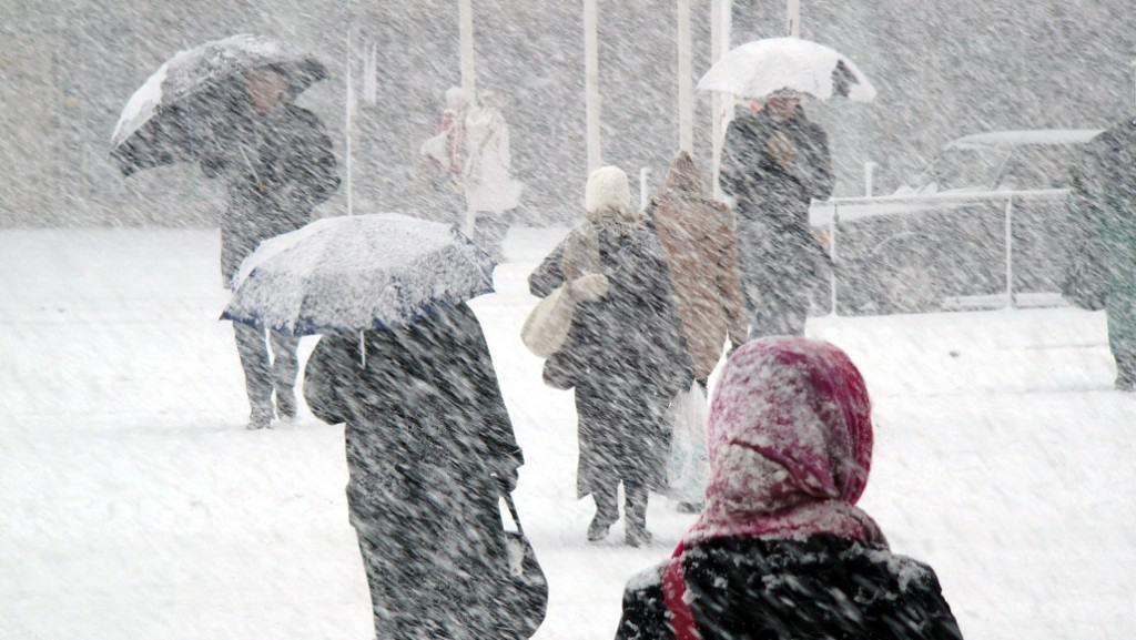 Holnap tél: hózáporok, hózivatarok! Lepel - 3 cm hó eshet! 3