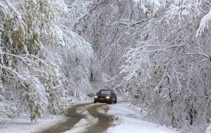 Kedden: markáns hidegbetörés - havazás, szélvihar, hideg! 1