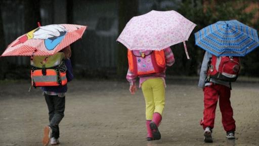 Esős, hűvös iskolakezdés 4