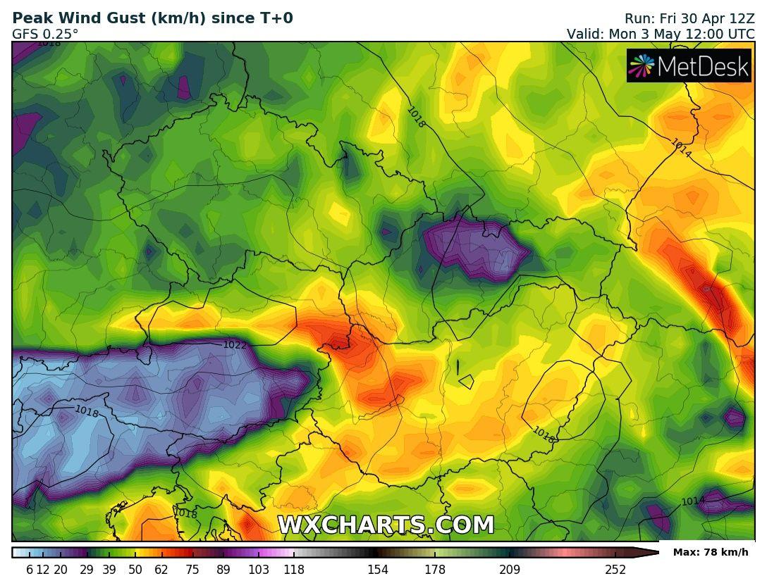 Viharos széllel érkezik a hidegfront!