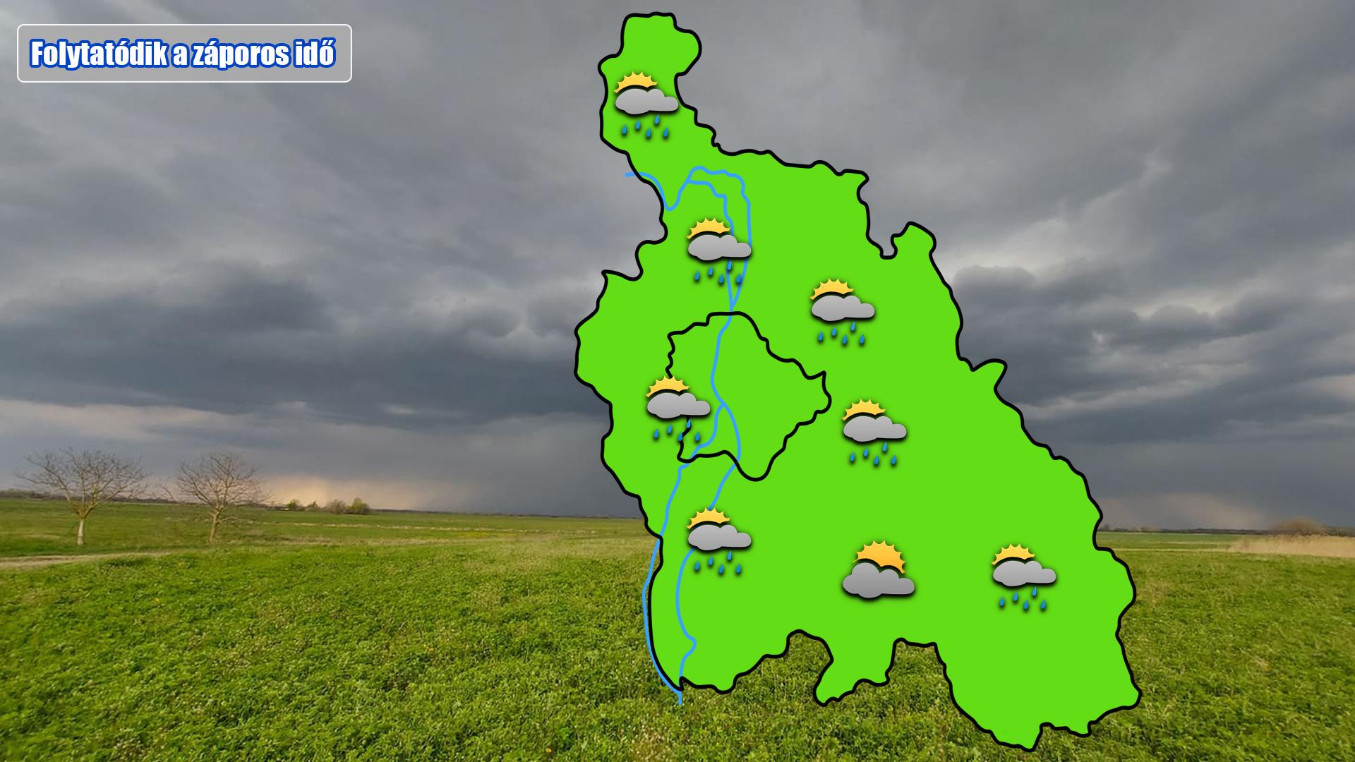 Időjárás előrejelzés Budapestre és Pest megyére 1