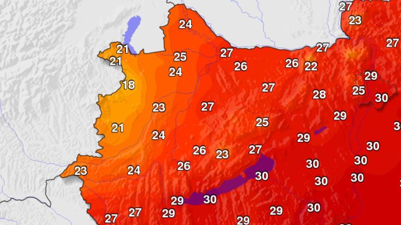 Több mint 10 fokot zuhant a hőmérséklet nyugaton! 1