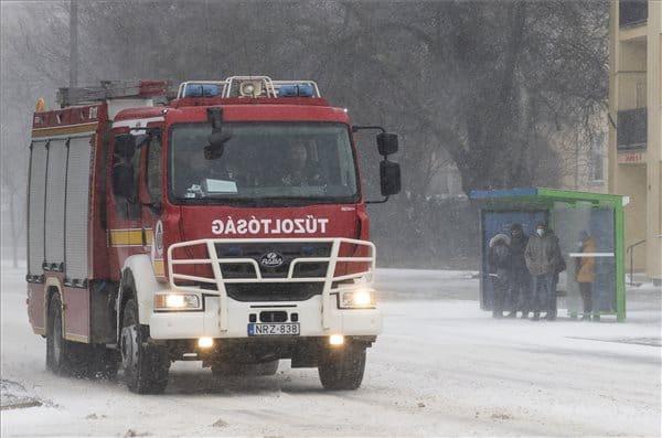 A havazás miatt helyenként akadozik az áramszolgáltatás! 10