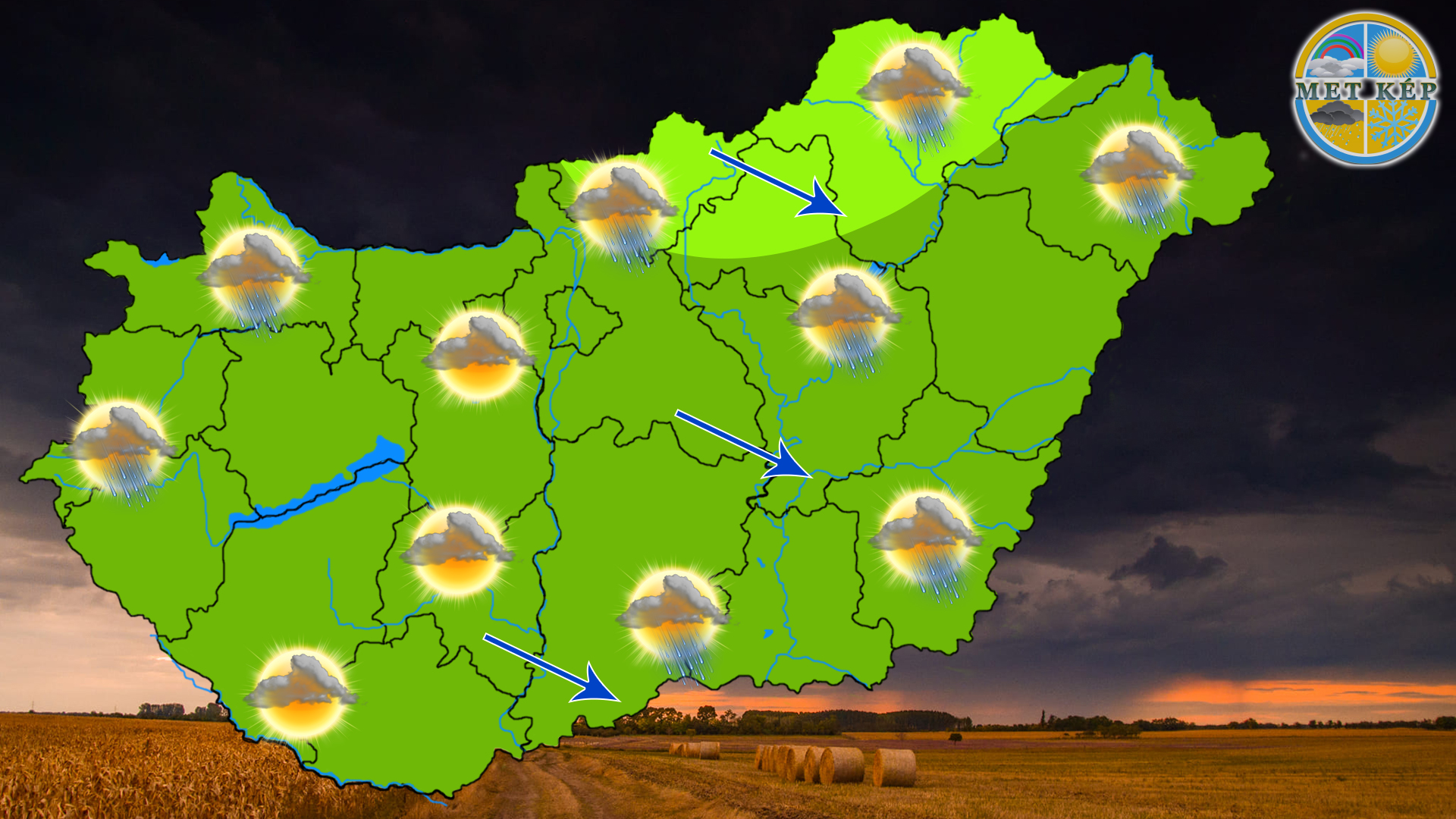 Ma: hidegfront érkezik, a hegyekben már hózápor is lehet! 1