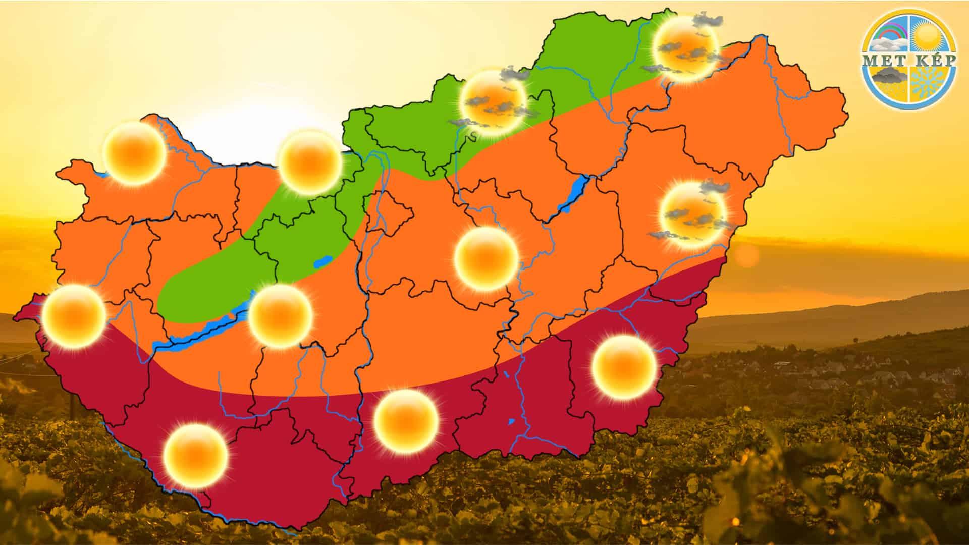 Ma: sokat fog sütni a nap, de nem lesz melegünk 6