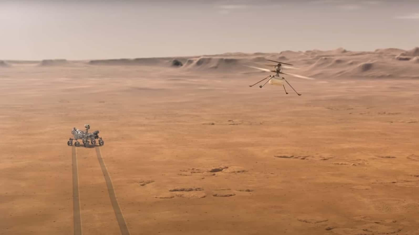 A Perseverance marsjáró tweetje szerint hamarosan egyedülálló misszió indul! 1