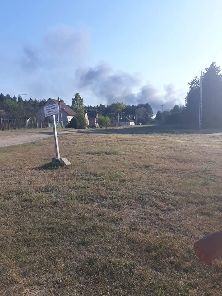 Lángol az izsáki palackozó üzem!(Friss képek) 10