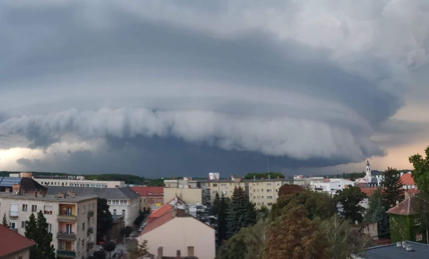 Szupercella alakult ki Sopronnál! 5