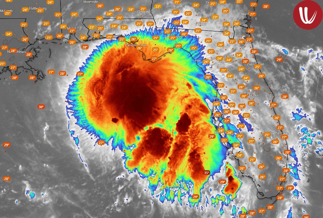 Hurrikánná erősödik Sally, a trópusi vihar, ami Európát is eléri! 1