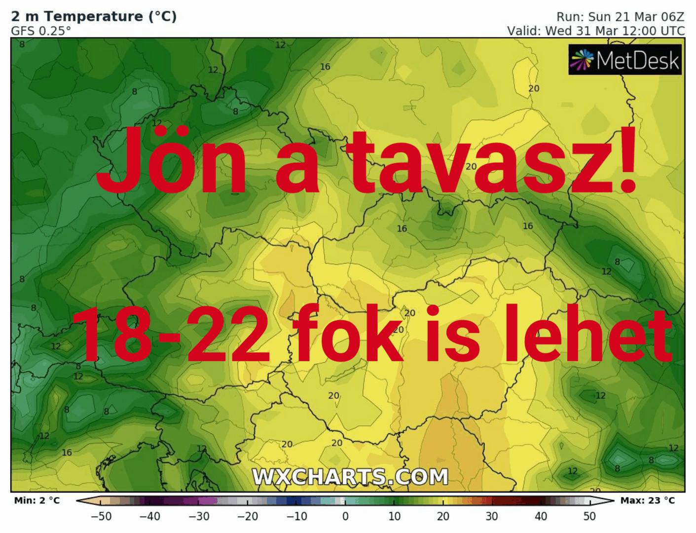 Hétvégére betör a tavasz: 18-20 fok lehet a Dél-Alföldön! 9