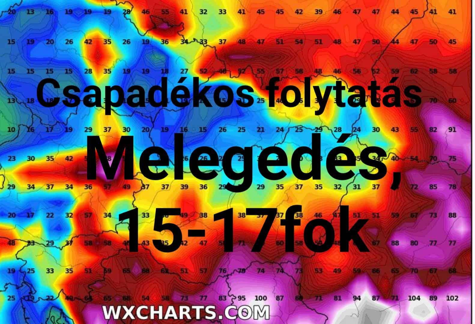 Hétvégén újabb ciklonok: akár jelentős esőzés, majd melegedés! 2