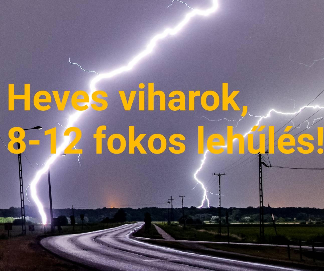 Heves viharokkal jelentős lehűlés érkezik! 4