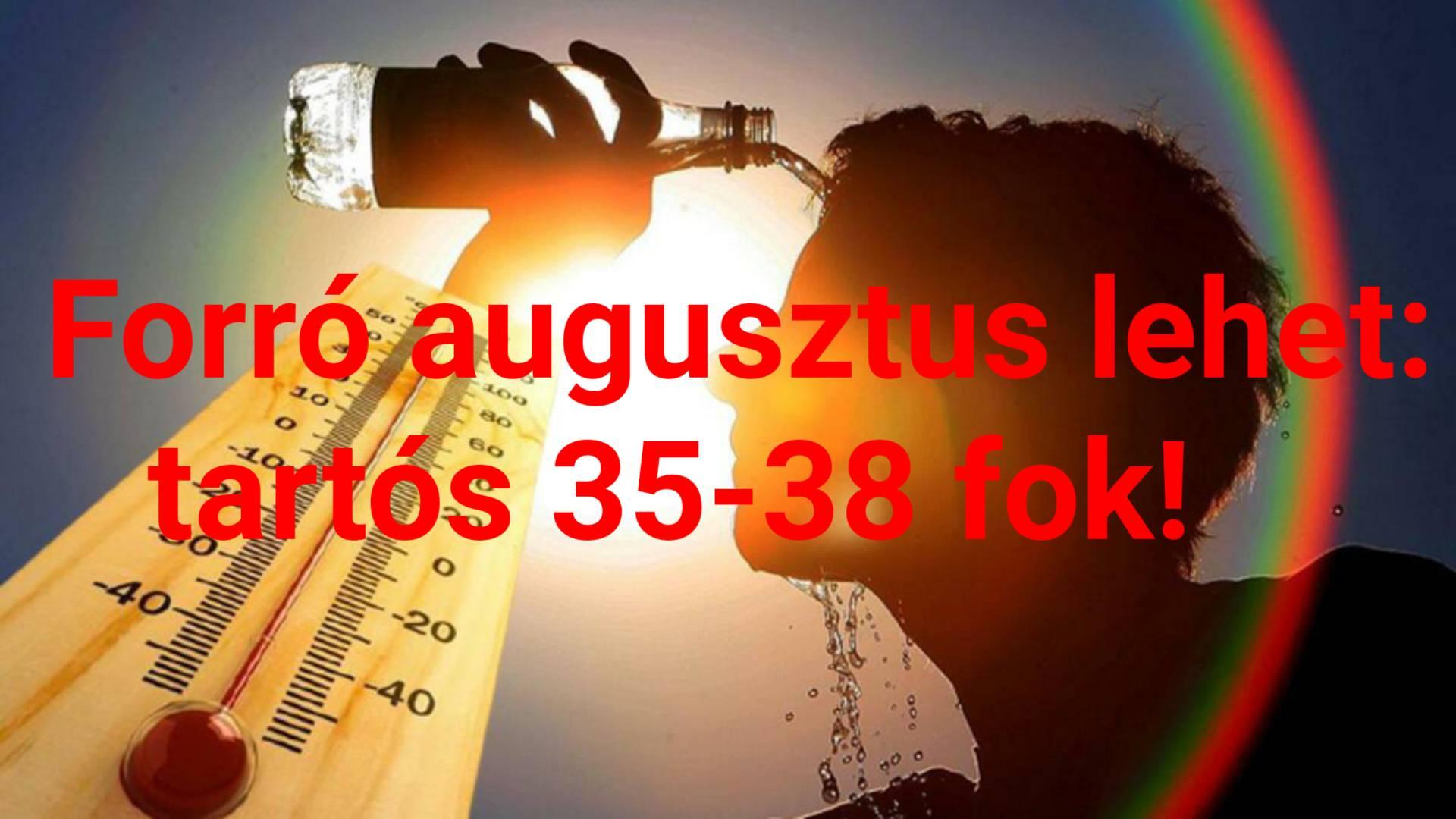 Forró, száraz augusztus jön: rekord meleg nyarunk lehet! 8