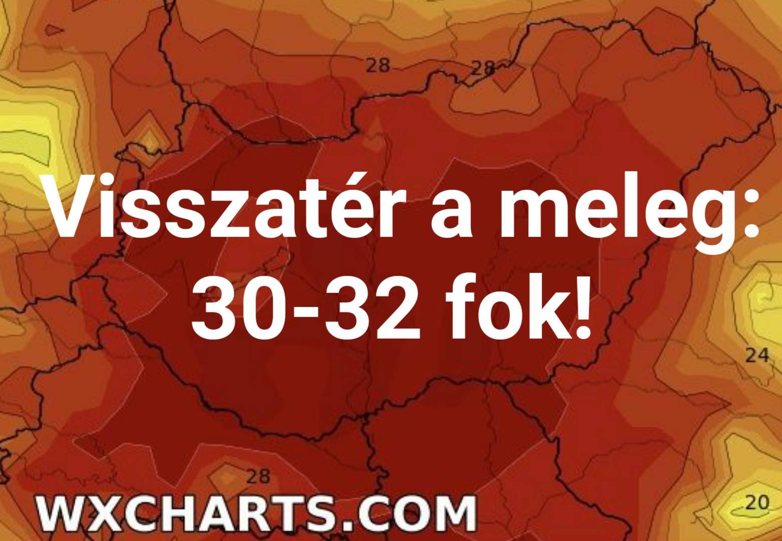 Érkezik az indiánnyár: 30-32 fokos meleget hoz! 7