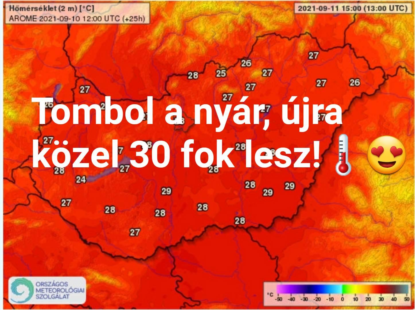 Holnap: tombol a nyár, közel 30 fok lesz! 5
